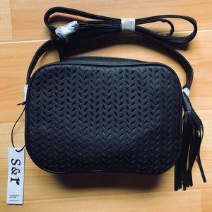Delilah crossbody bag in black from Summer & Rose